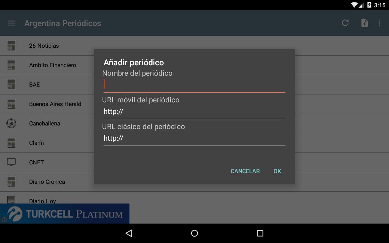 Argentina Periódicos- screenshot
