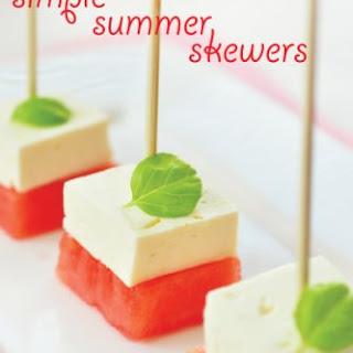 Simple Summer Skewers