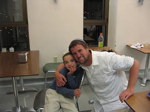 Photo: Oz Avraham & Uncle Shayke