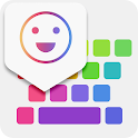 iKeyboard -GIF keyboard,Funny Emoji, FREE Stickers icon