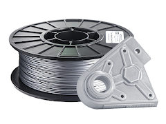 Metallic Silver PRO Series PLA Filament - 1.75mm (1kg)