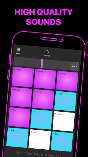 Electro Drum Pads 24 - Music & Beat Maker 2.5.5 screenshots 3