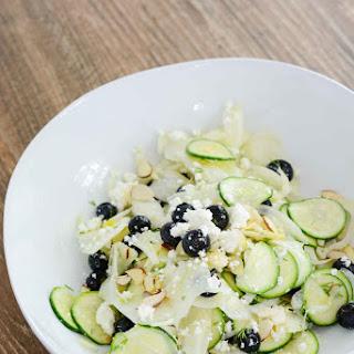 Fennel Zucchini Blueberry Salad