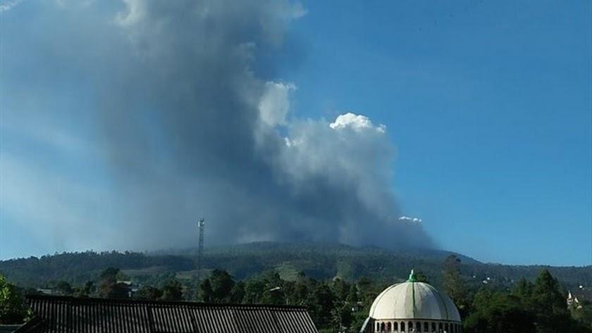 El volcán Tangkuban Perahu.