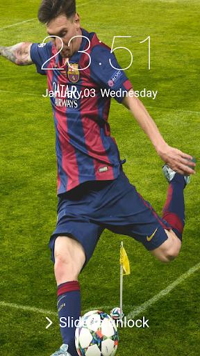 New Lock screen for Leo Messi 2018 2.0.0 screenshots 1