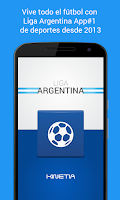Screenshot of Liga Argentina de Fútbol