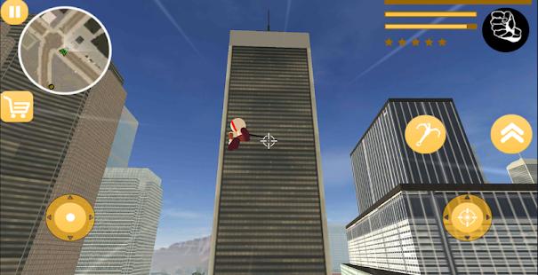 Download God Stickman Rope Hero Of War Gangstar Crime Mafia For PC Windows and Mac apk screenshot 3