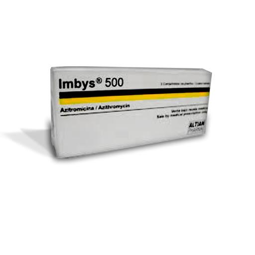 Azitromicina Imbys 500mg 5comprimidos Altian Pharma