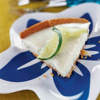 White Chocolate-Key Lime Pie
