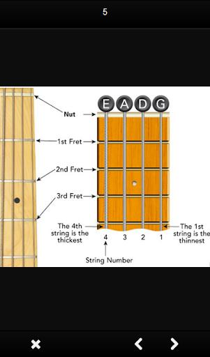 Bass guitar chords 1.0 screenshots 4