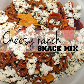 Cheesy Ranch Snack Mix