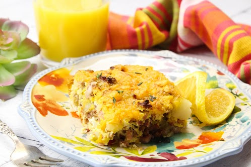 Sunday Easy Breakfast Casserole
