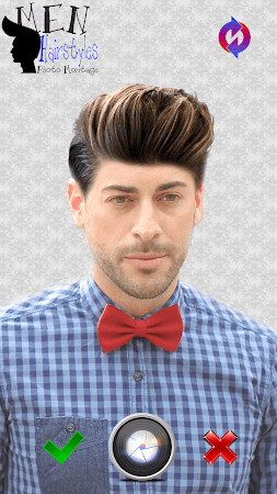 Men Hairstyles Photo Montage 3.0 screenshot 771474