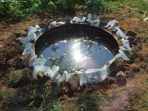 Photo: még tettünk köré köveket, ezek ideiglenesek, még a széleket el kell majd dolgozni https://www.facebook.com/reginakertgodollo