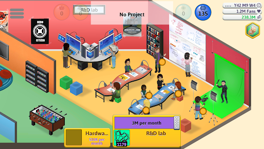 Game Dev Tycoon (MOD, Paid/Free Shopping) v1.6.1 5