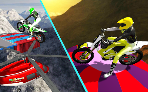 Real Ramp Impossible Bike Stunt 1.0 APK Mod Latest Version 2