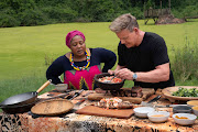South African chef Zola Nene shares some local culinary tricks with British chef Gordon Ramsay on an episode of  his show 'Gordon Ramsay: Uncharted'
