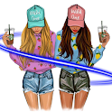 BFF Best Friend Wallpaper for girls! Cute BFF icon