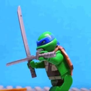 ninjaGO warrior cityhero slide - náhled