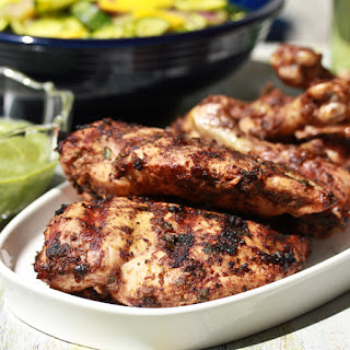 Indian Spice Rubbed Chicken.