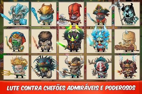 Tiny Gladiators APK + MOD DINHEIRO INFINITO para Android imagem 2