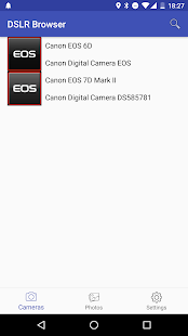 Canon DSLR Browser- screenshot thumbnail