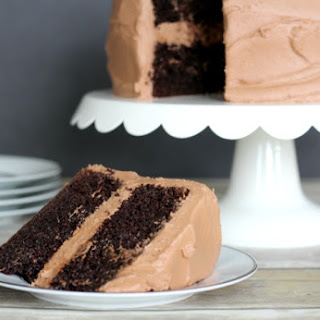Easy Double Chocolate Cake