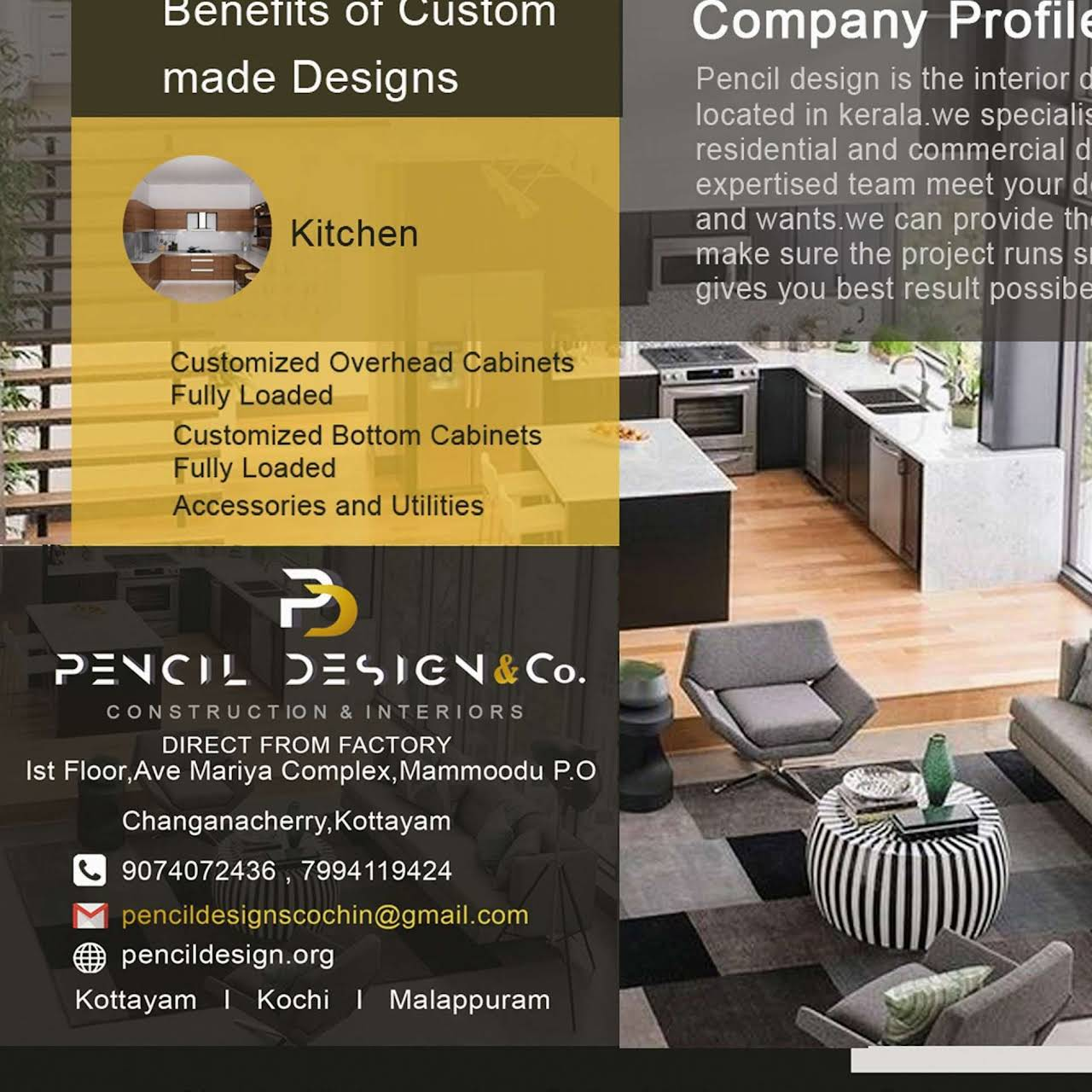 Pencil Design Interior Designer In