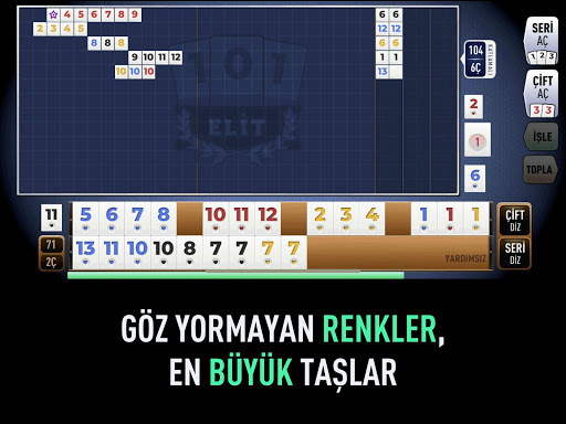 101 Yu00fczbir Okey Elit 1.1.24 screenshots 6