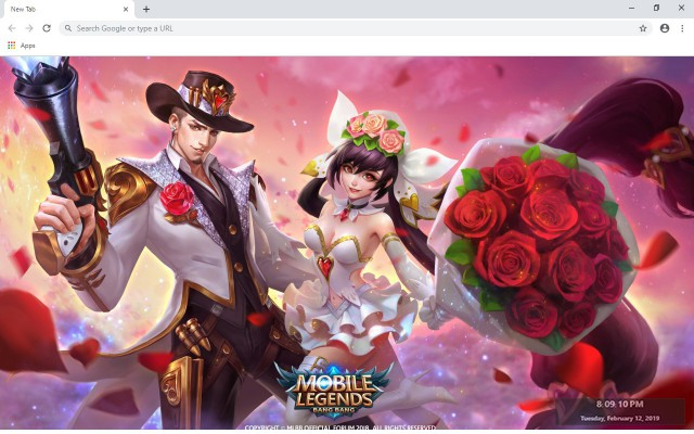 Mobile Legends New Tab