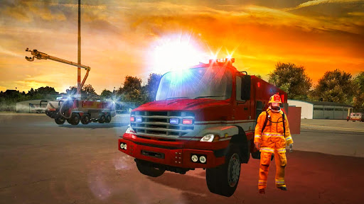 Firefighter Games : fire truck games screenshots 1