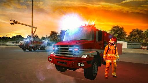 Firefighter Games : fire truck games 1.0 screenshots 1