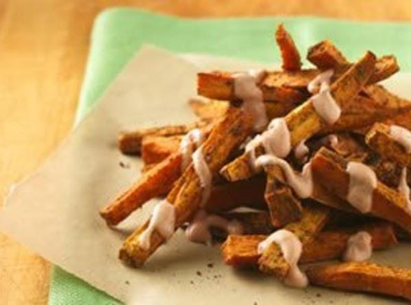Cajun Sweet Potato Fries With Yogurt Dipping Sauce Recipe