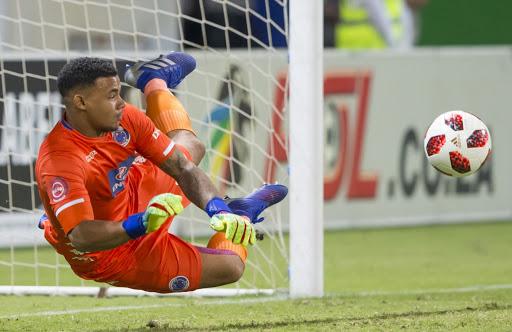 Ronwen Williams the hero as Orlando Pirates crash against SuperSport United