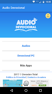 Audio Devocional- screenshot thumbnail