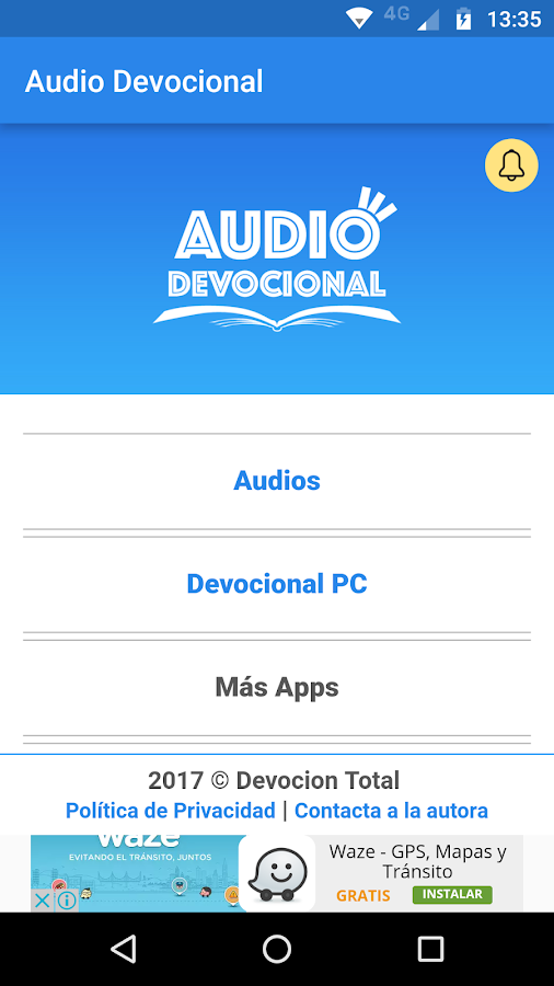Audio Devocional- screenshot