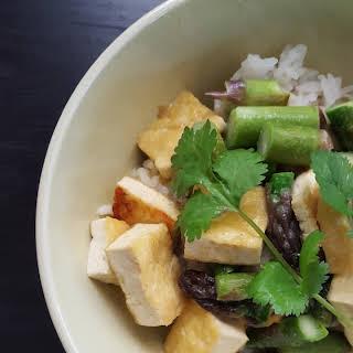Asparagus Tofu Green Curry.