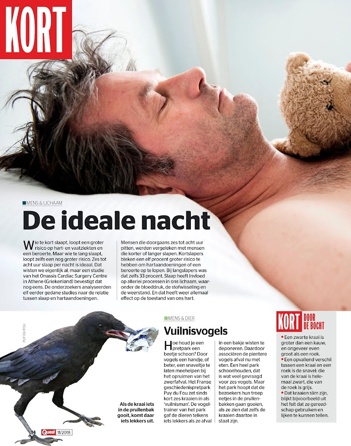 Quest Magazine NL: screenshot
