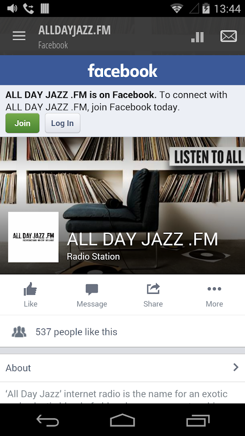 ALLDAYJAZZ.FM: screenshot