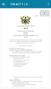 Ghana Tax ACTS- screenshot thumbnail