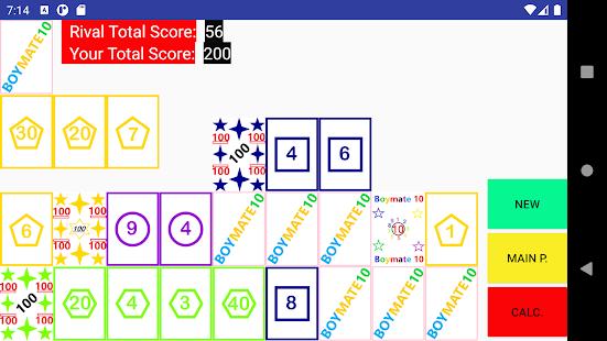 Boymate10 2P - Brain Card Game
