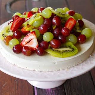 Paleo Pavlova Cake.