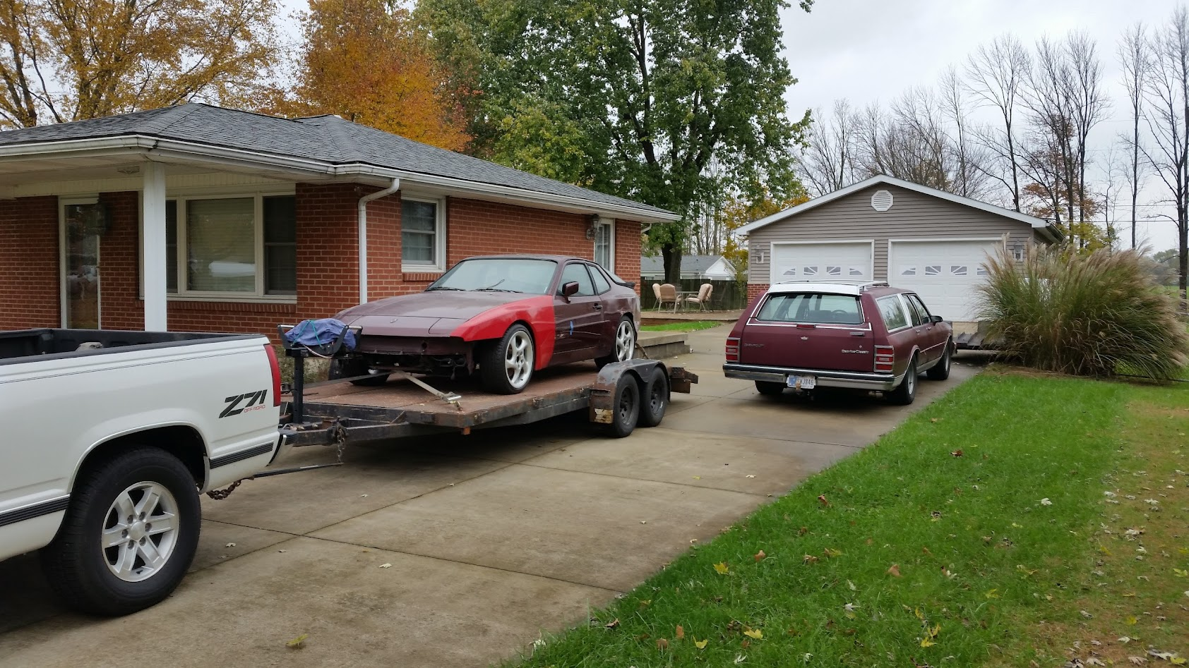 Cultural Appropriation: 1984 Porsche 944 LS1   Builds and Project