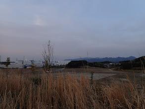 シャープ亀有工場と錫杖ヶ岳・経ヶ岳