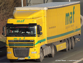 Photo: DAF XF from MAF         -----> just take a look and enjoy www.truck-pics.eu