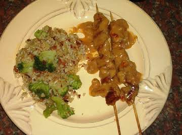 Thai Chicken with Peanut Sauce