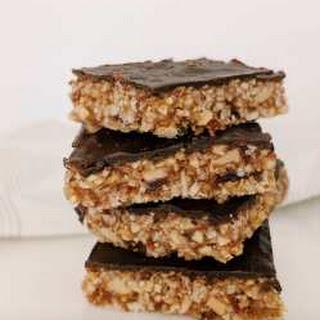 Raw Snickers Slice Recipe