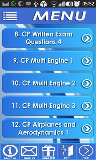 Commercial Pilot Exam Review