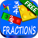 Fractions Learning Maths FREE icon