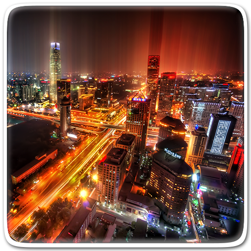 Night City Live Wallpaper Icon
